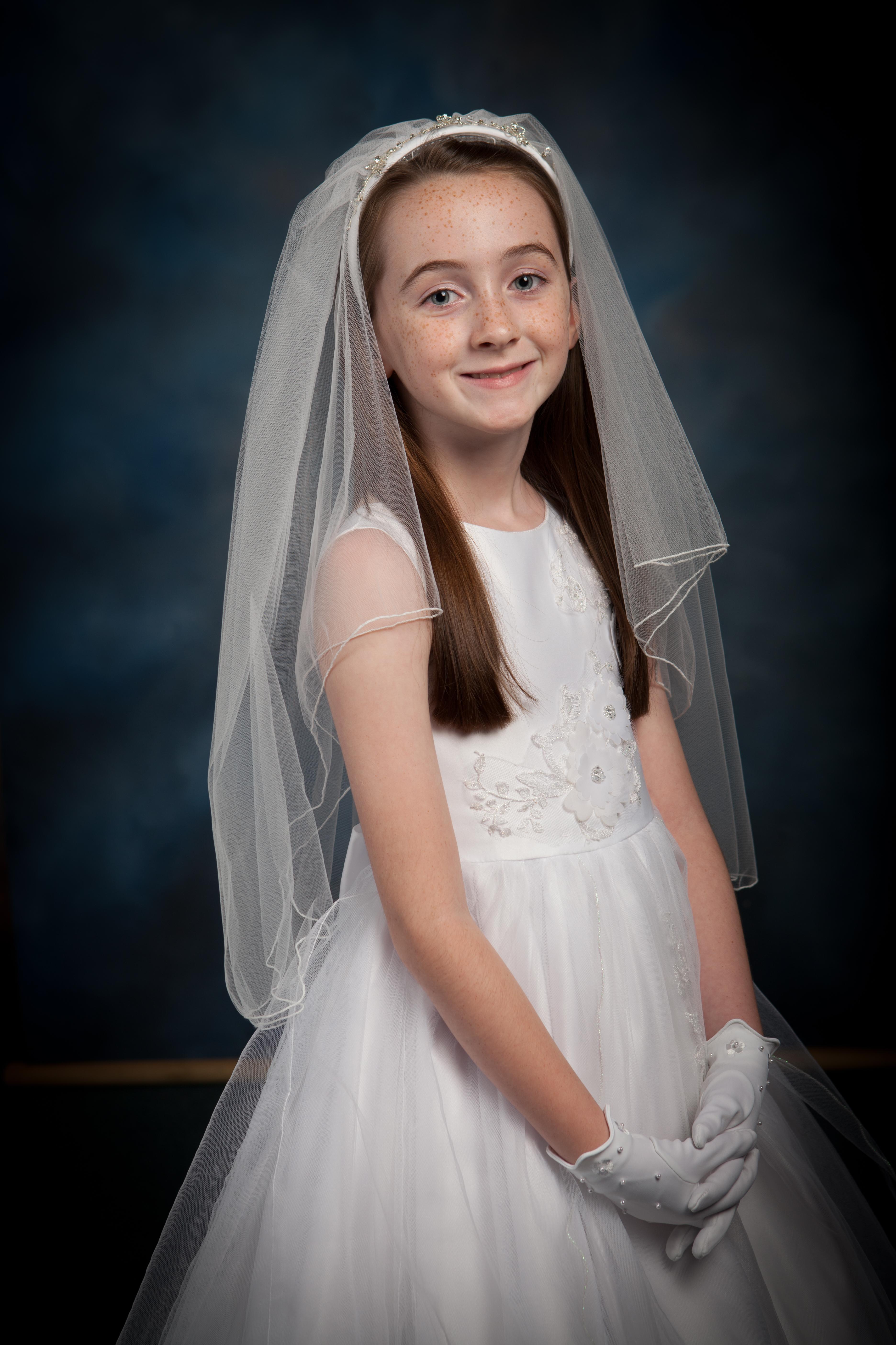 First Communion Portraits - Hayward Photography