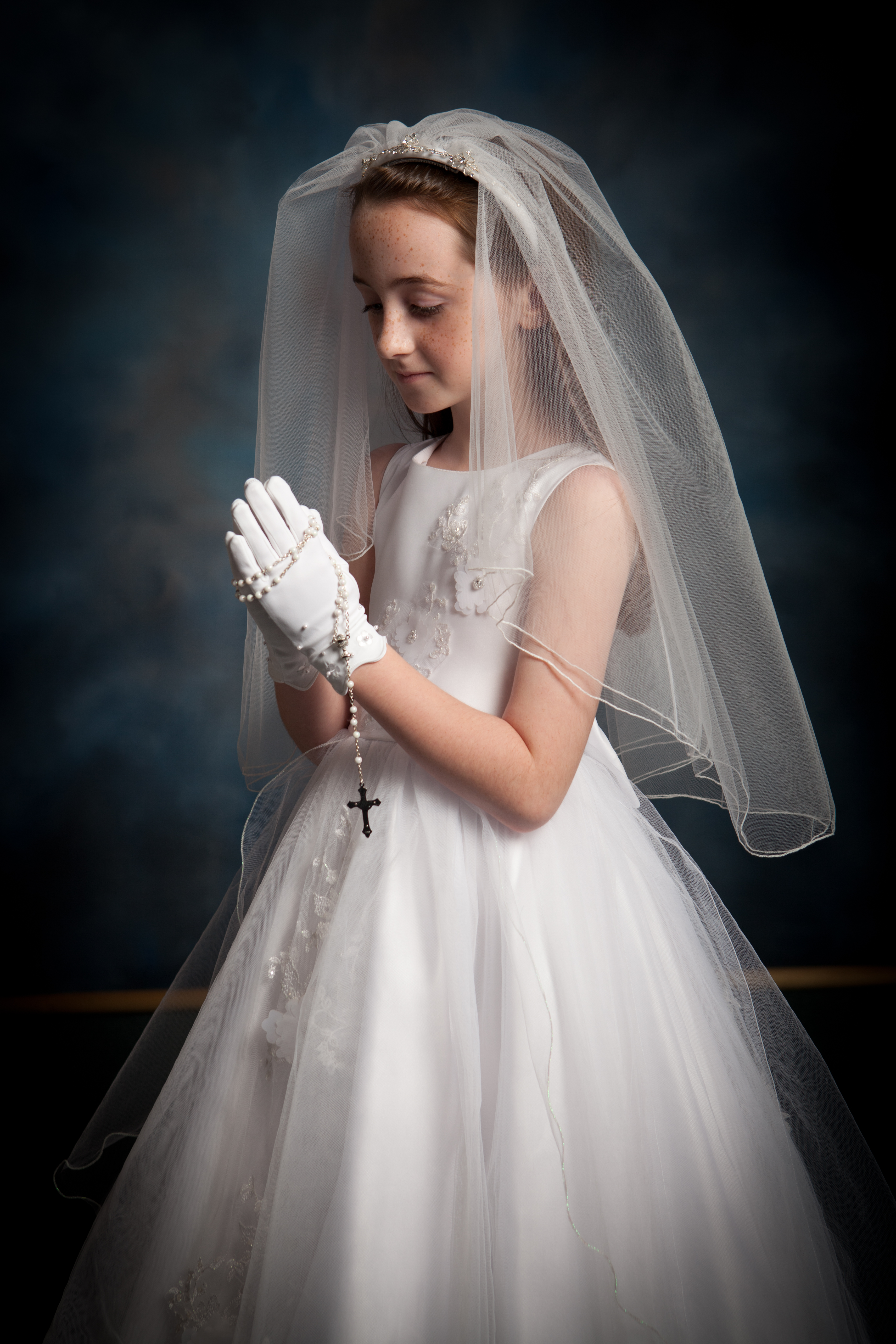 First Communion Portraits - Hayward Photography